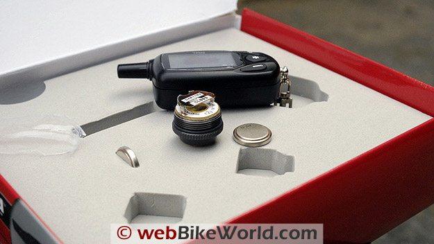 TireGard TPMS Wireless Tire Pressure Monitoring System - Box and Batteries