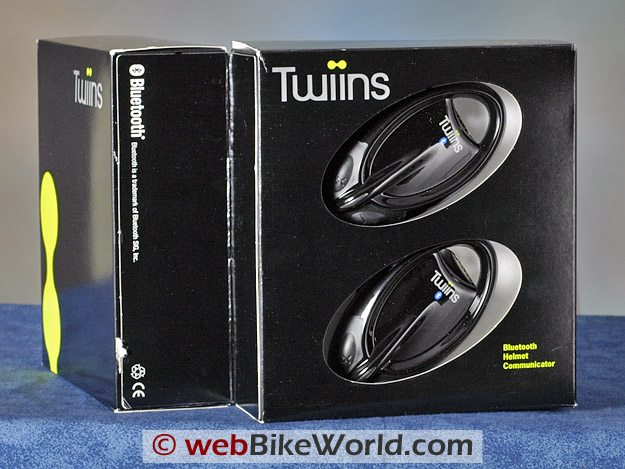 Twiins Motorcycle Bluetooth Intercom - Box