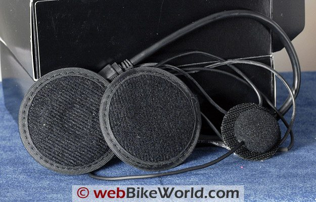 Twiins Motorcycle Bluetooth Intercom Speakers