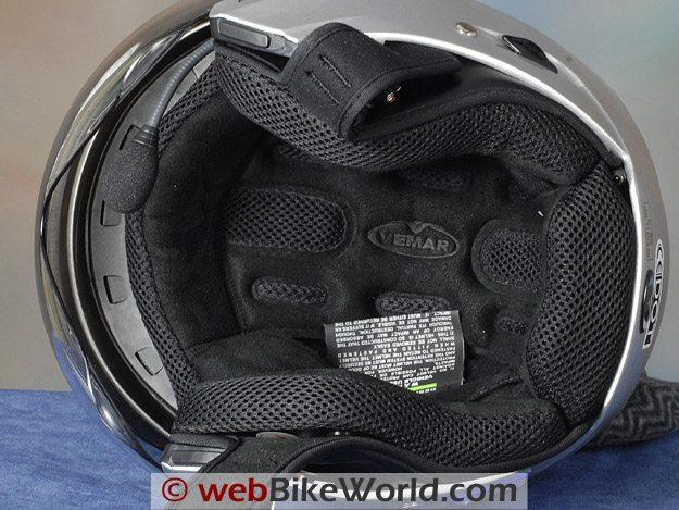 Vemar CKQI Bluetooth Motorcycle Helmet Liner