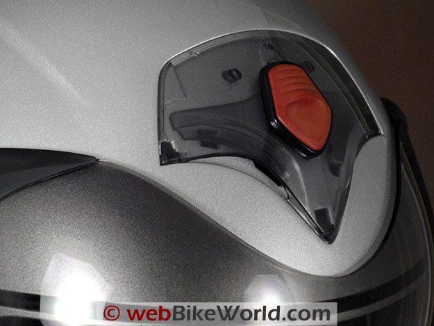 Vemar CKQI Bluetooth Motorcycle Helmet - Top Vent