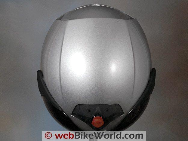 Vemar CKQI Bluetooth Motorcycle Helmet - Top View