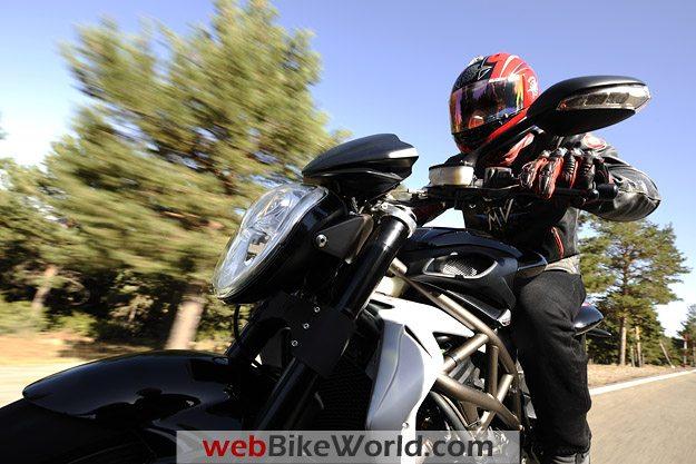 2010 MV Agusta Brutale 990R With Rider