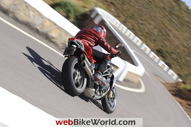2010 MV Agusta Brutale 990R on the Road