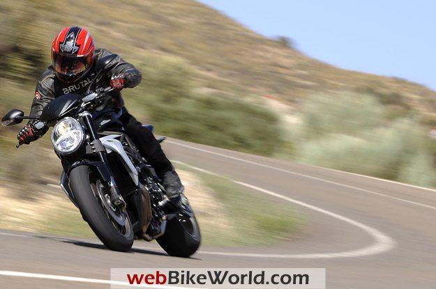 2010 MV Agusta Brutale 990 R With Rider