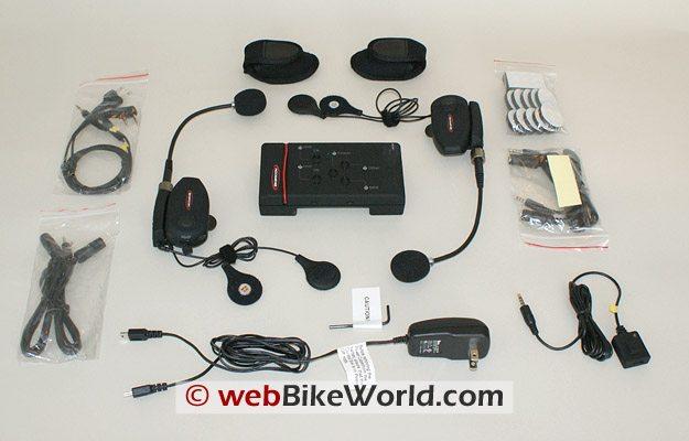 BikerCom Motorcycle Intercom Communications System Parts