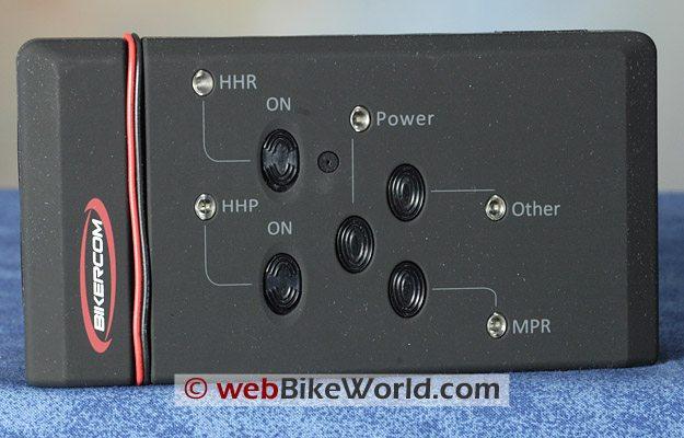 BikerCom Motorcycle Intercom Communications System - Control Module