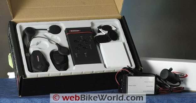 BikerCom Motorcycle Intercom Communications System - Parts