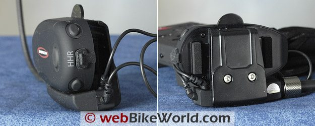 BikerCom Motorcycle Intercom Communications System - Bluetooth Module Views