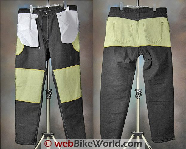 Diamond Gusset Defender Jeans - Kevlar Lining