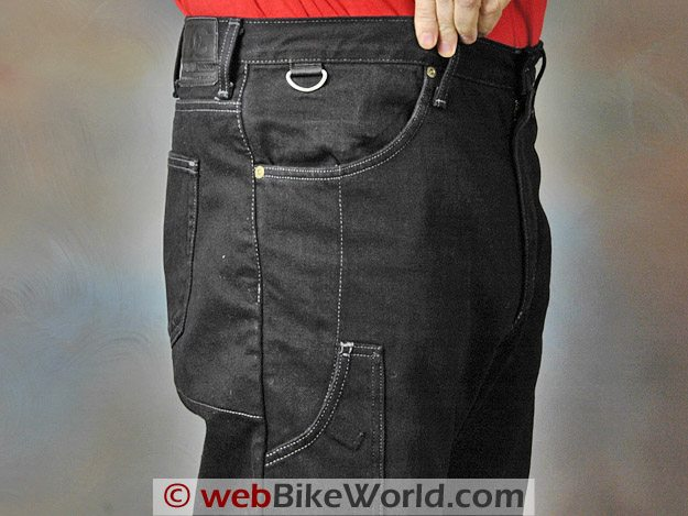 Diamond Gusset Defender Jeans - Extra Pockets and Loop