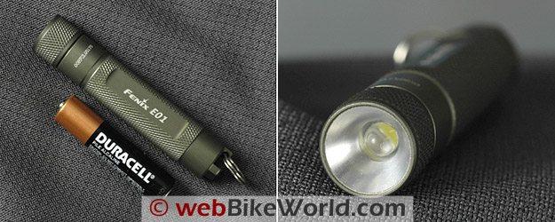 Fenix E01 LED Flashlight Close-ups