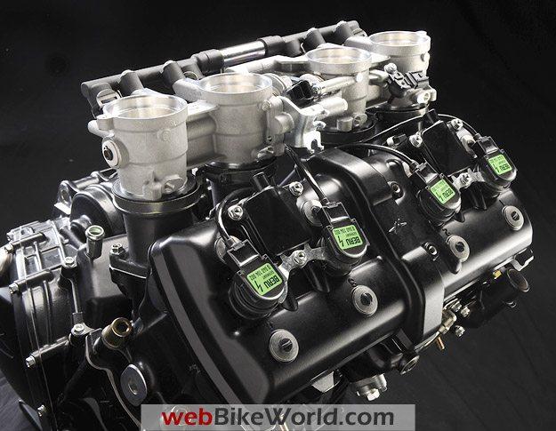 2010 MV Agusta Brutale 990R Engine