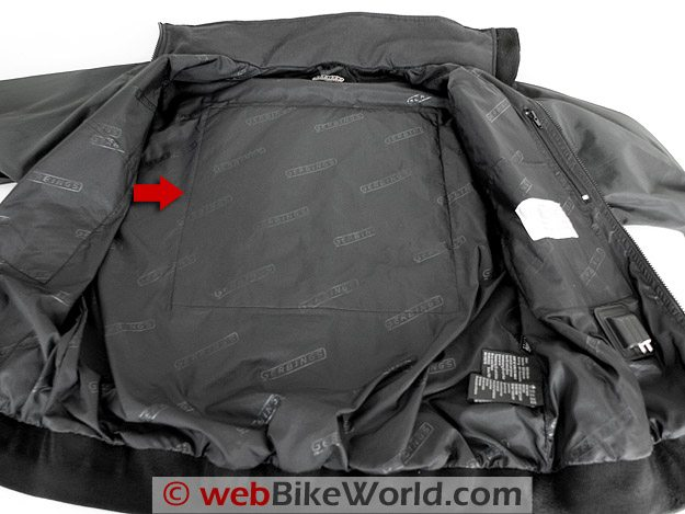 Gerbing's Microwire Heated Jacket Liner - Heated Back Pad