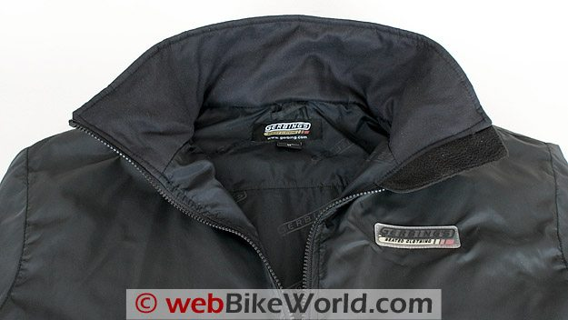 Gerbing's Microwire Heated Jacket Liner - Collar Close-up