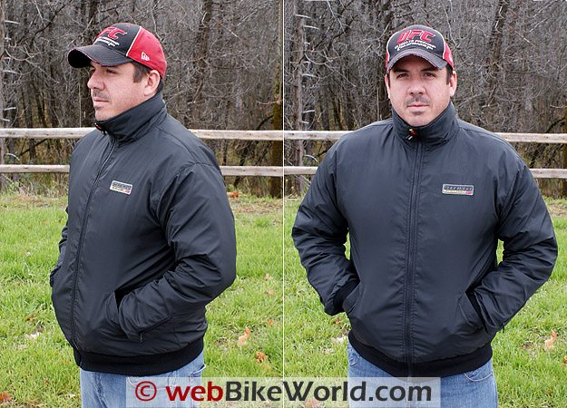Gerbing's Microwire Heated Jacket Liner on Rider