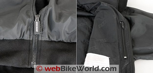 Gerbing's Microwire Heated Jacket Liner - Zippers