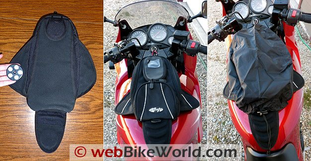 "Joe Rocket""Manta Tank Bag - Views"