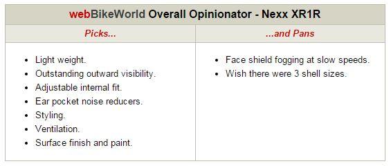 Nexx XR1R Opinionator