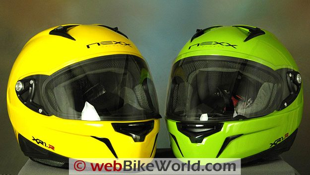 Nexx XR1R Helmet - Yellow and Green
