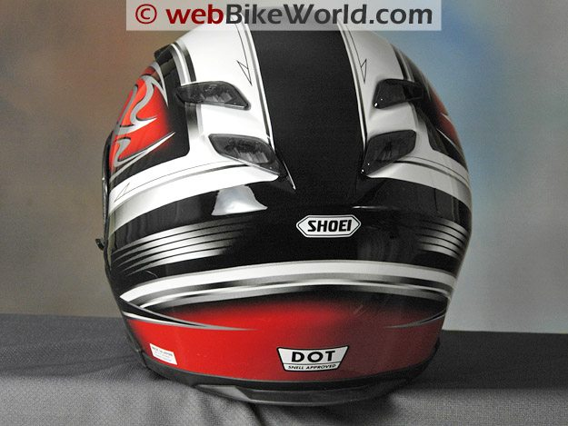 Shoei RF-1100 Rear View