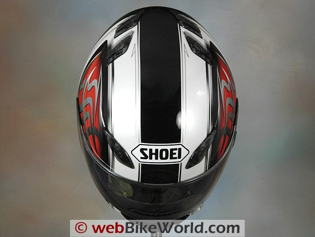 Shoei RF-1100 - Top View