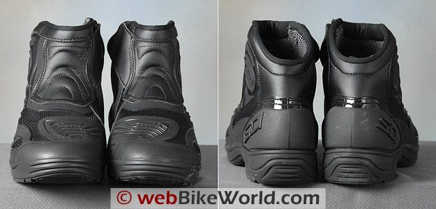 Front and Rear View of the Sidi Slash Boots