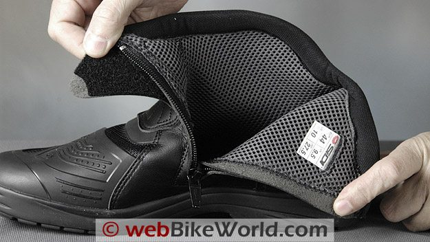 Lining of the Sidi Slash Boots