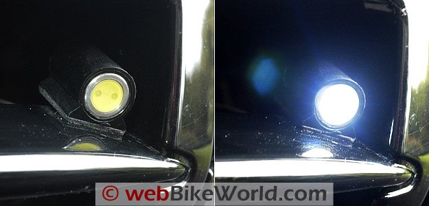 BikeVis Lights Close-up