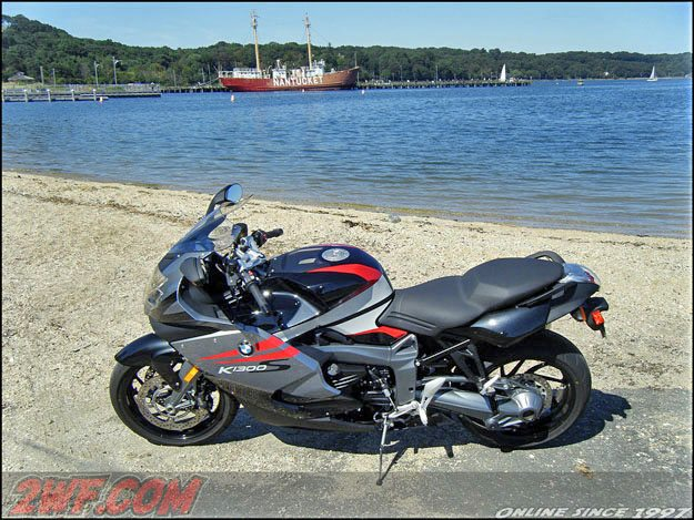 BMW K 1300 S on the Beach