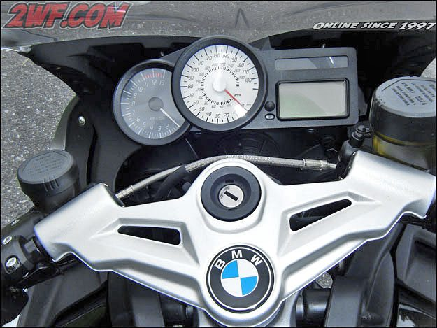 BMW K 1300 S Instruments