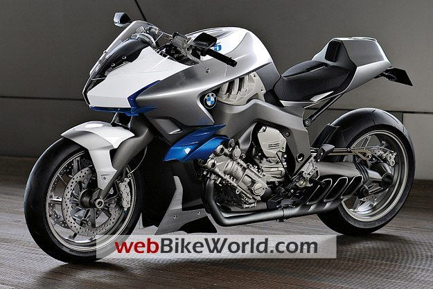 BMW Motorrad Concept 6 - Left Side View