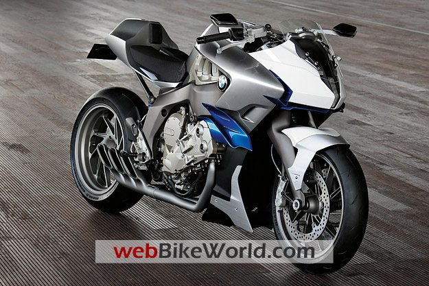 BMW Motorrad Concept 6 - Front View