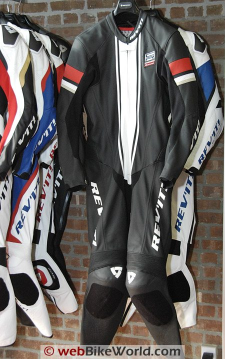 REV'IT! CR leather one-piece motorcycle riding suit