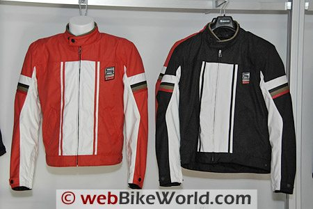 2010 REV'IT! CR textile jackets