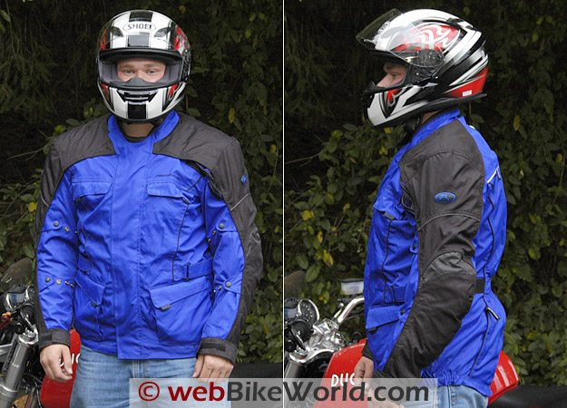 Fieldsheer Aqua Tour Jacket on Rider