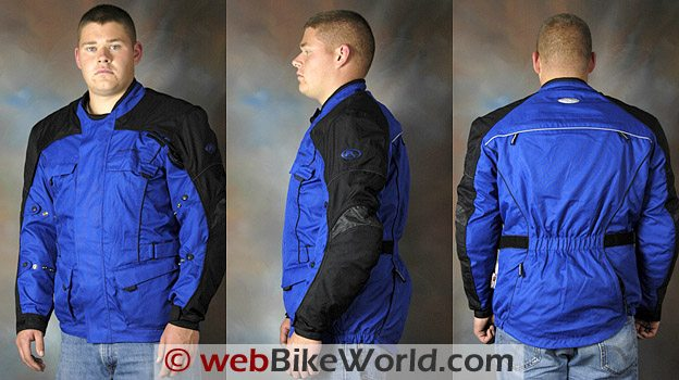 3 Views of the Fieldsheer Aqua Tour Jacket