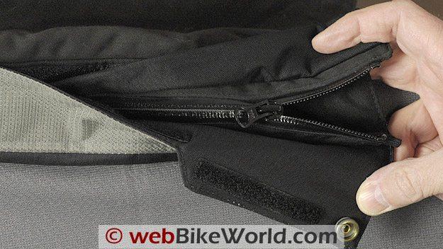 Firstgear Escape TPG Textile Pants Leg Zipper