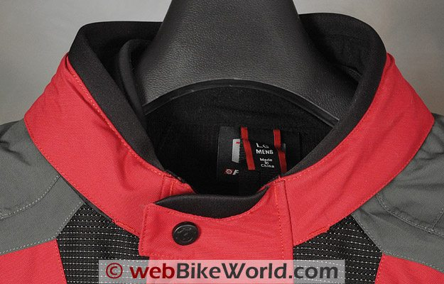 Firstgear Teton TPG Jacket - Collar
