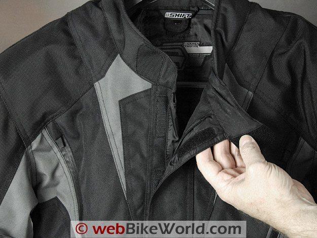 Shift Triton SS Waterproof Jacket - Collar and Zipper