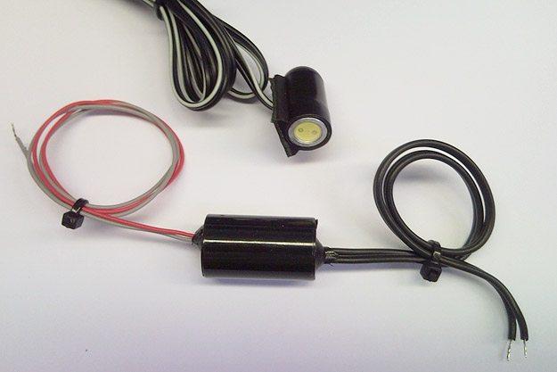 BikeVis PodMod Modulator (Bottom) and BikeVis Bullet (Top). Photo Courtesy of BikeVis.