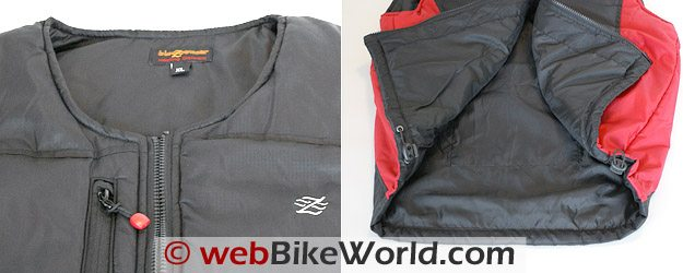 Blazewear Battery Heated Vest - Details