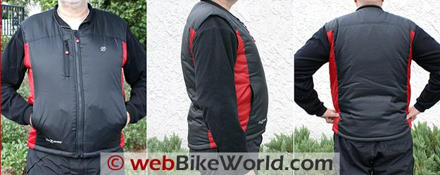 Blazewear Battery Heated Vest - Views