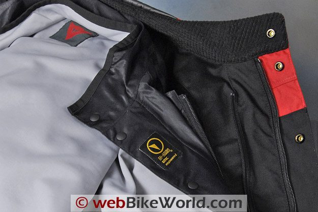 Dainese D-System D-Dry Jacket - Collar and Liner