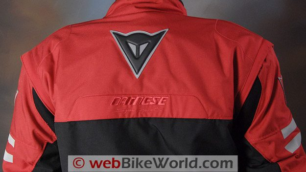 Dainese D-System D-Dry Jacket - Rear View of Shoulders