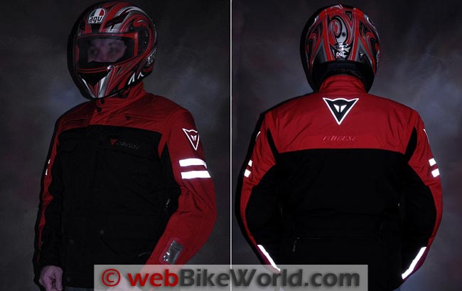 Dainese D-System D-Dry Jacket Reflectivity