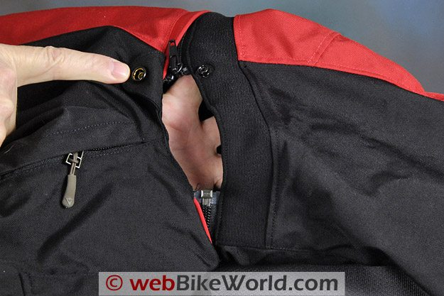 Dainese D-System D-Dry Jacket - Arm Vent