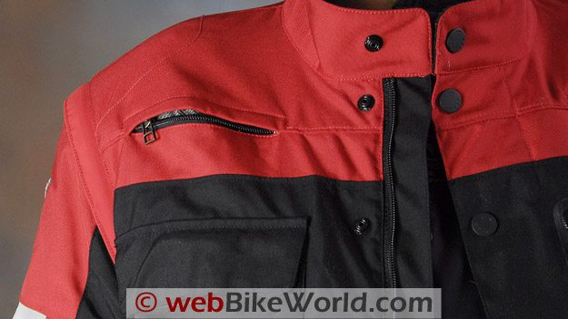 Dainese D-System D-Dry Jacket - Upper Vent