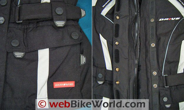 Polo Bahiro Jacket Pockets and Zippers
