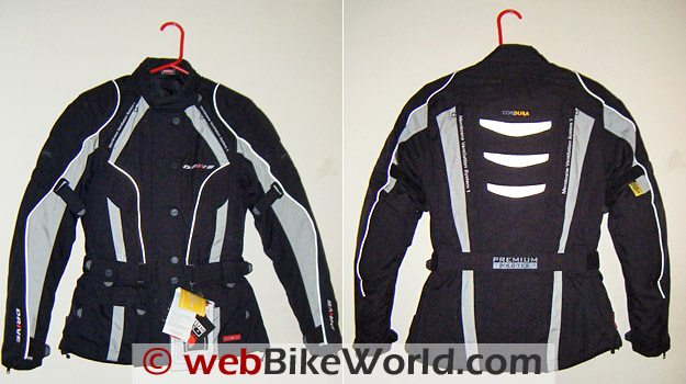 Polo Bahiro Jacket - Front and Rear Views